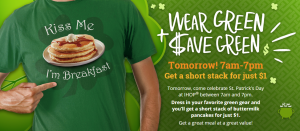 ihop st patricks day deal