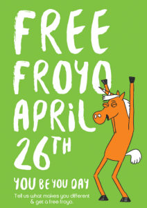 free froyo day
