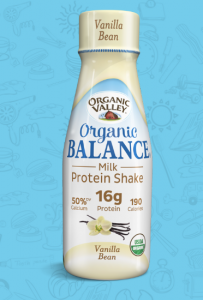 organic valley protein shake