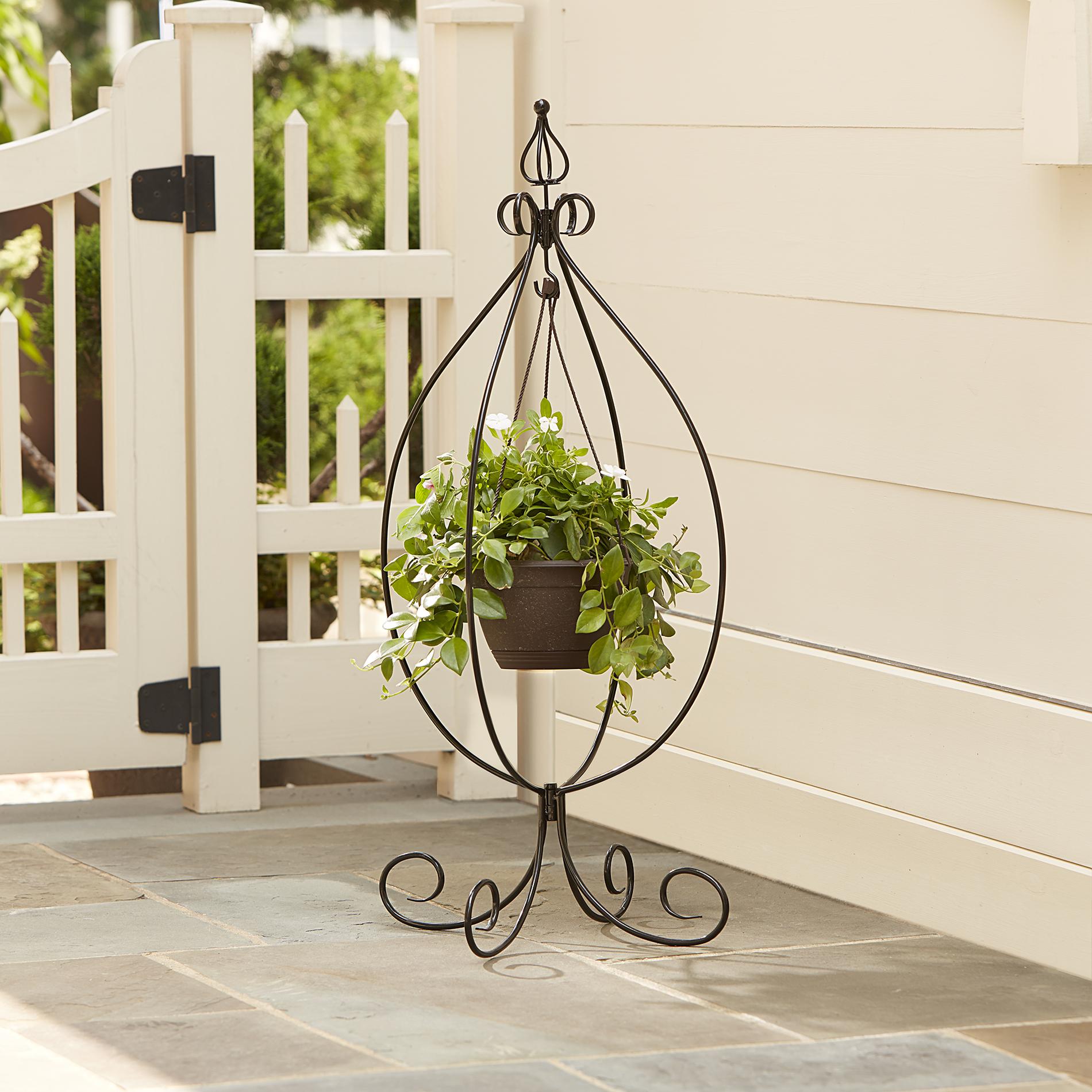 Essential Garden Hanging Basket Plant Stand 15 99