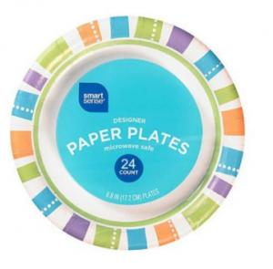 smart sense paper plates