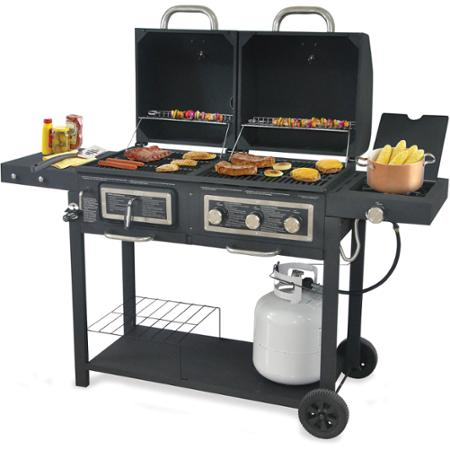 Backyard Grill Dual Gas and Charcoal Grill—$198! (Save $101) - Common - Backyard Grill Gas Grill Outdoor Goods