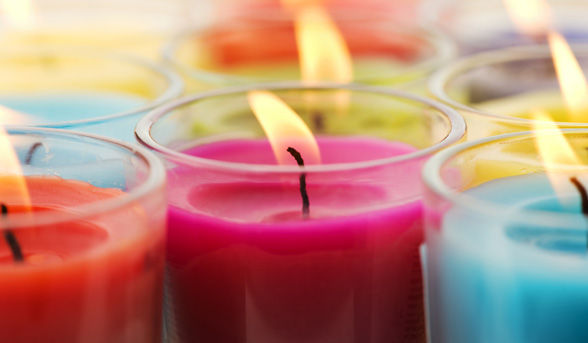 scented candles to be more productive