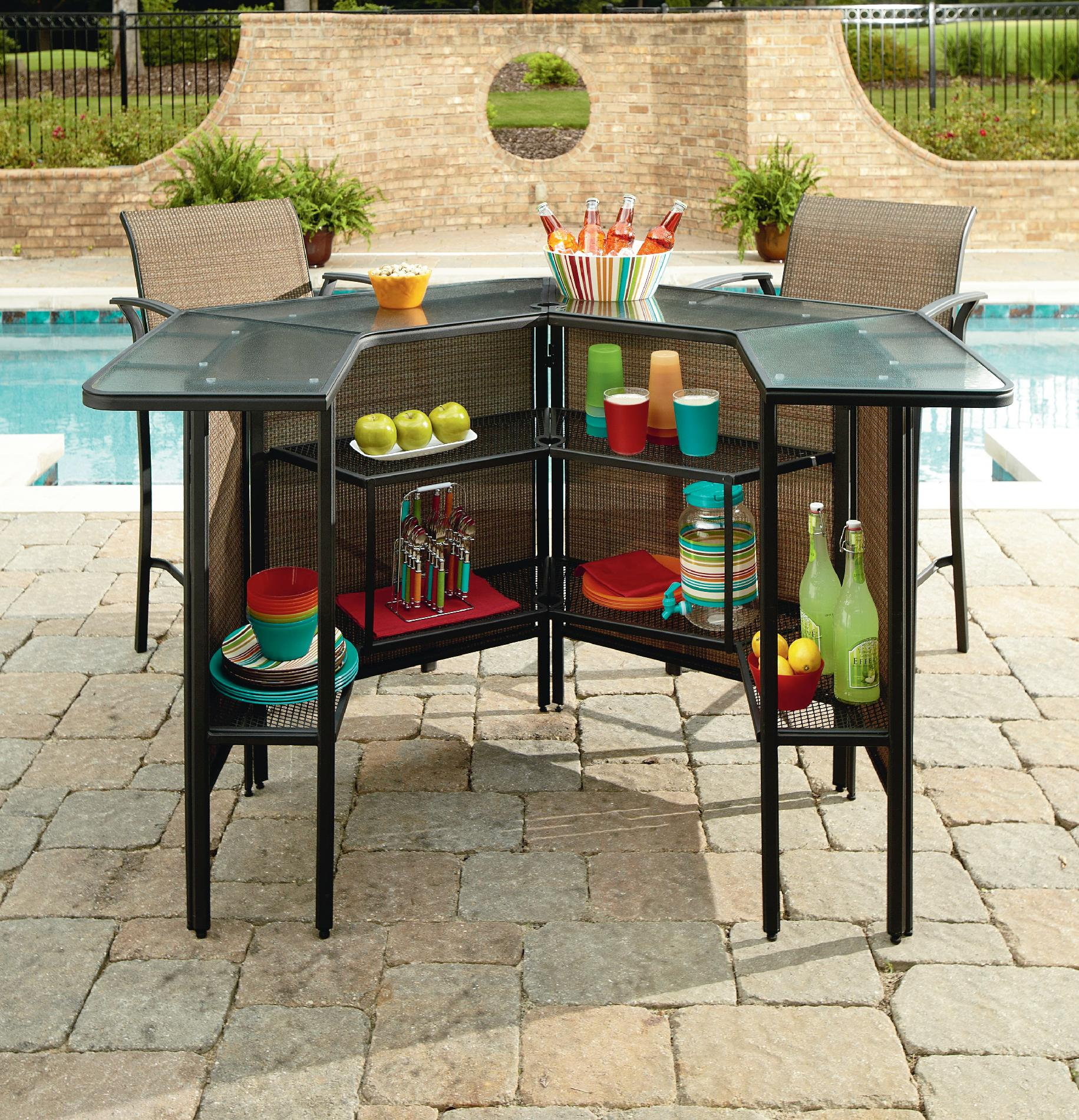 Garden Oasis Harrison 5 pc Patio Bar Set Down to $299 00 50