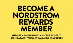 nordstrom promo