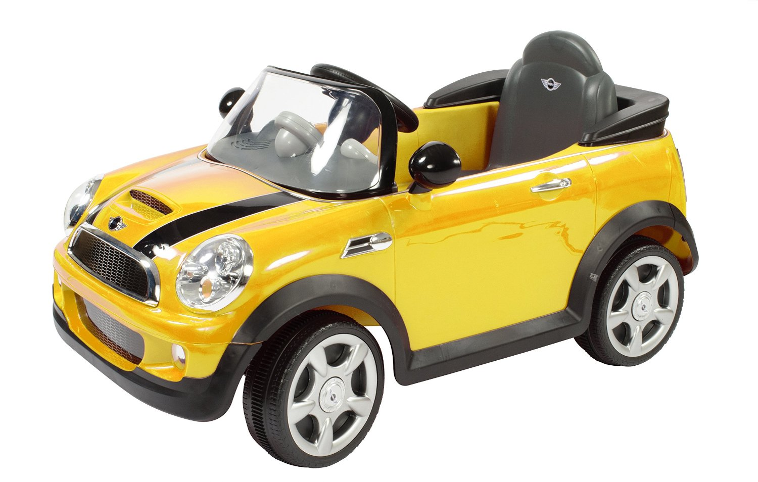 amazon prime rollplay 6v mini cooper child 39 s battery ride on reg common. Black Bedroom Furniture Sets. Home Design Ideas