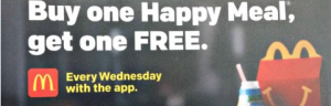 bogo happy meals