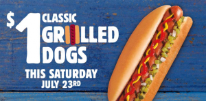 grilled dogs