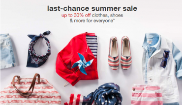 last chance summer sale
