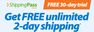 shipping pass trial