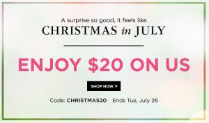 shutterfly christmas in july