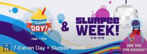 slurpee week