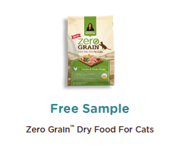 zero grain cat food