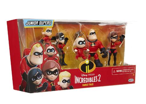 The Incredibles 2 Family 5-Pack Junior Supers Action Figures – Only $5.03!